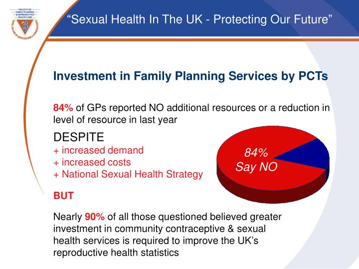 Investment in Family Planning Services by PCTs