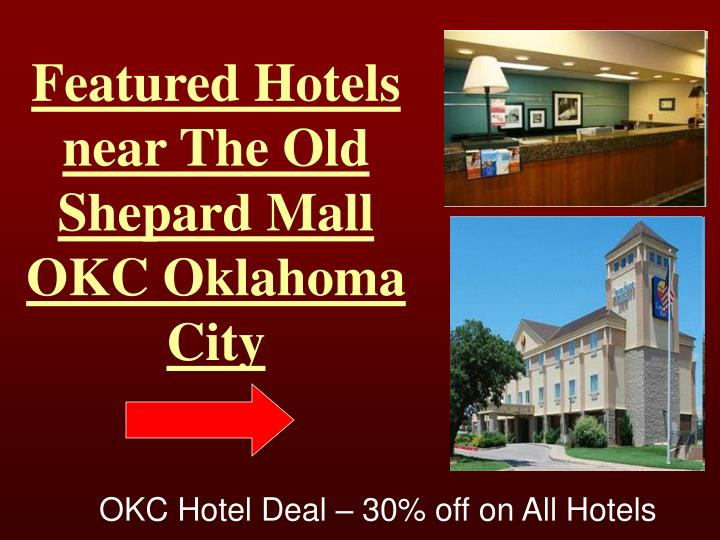 Featured Hotels near The Old Shepard Mall