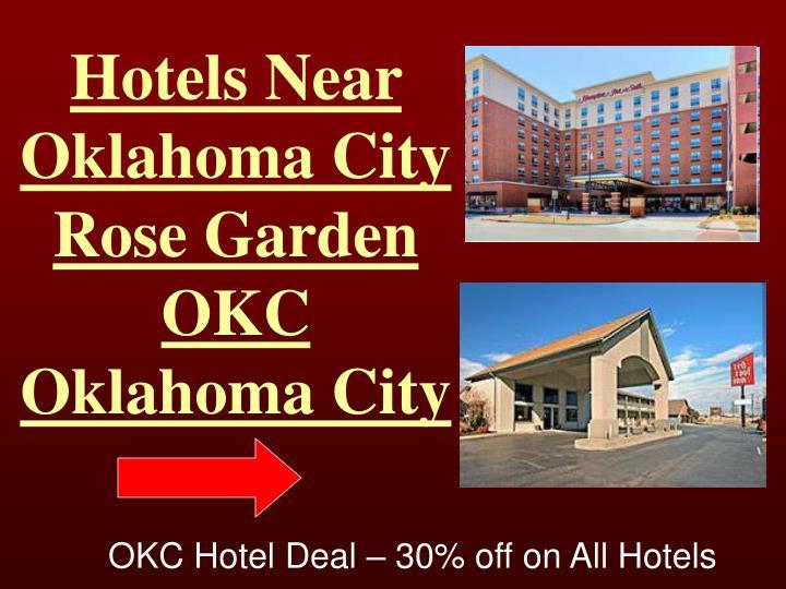 Hotels Near Oklahoma City Rose Garden