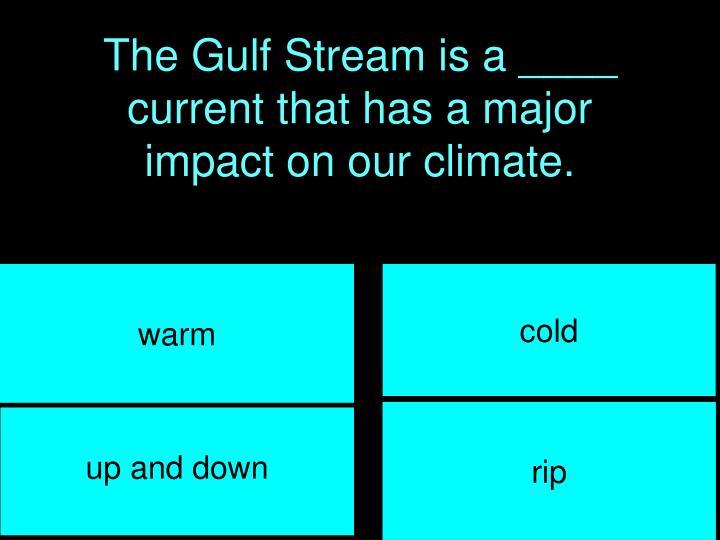 The Gulf Stream is a ____