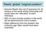 rawls global original position
