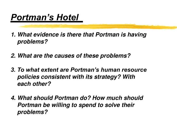 Portman's Hotel