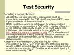 test security4