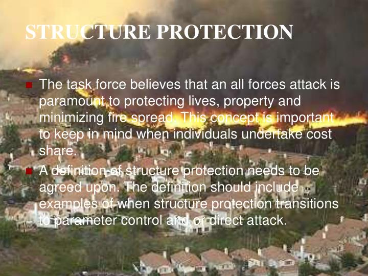 STRUCTURE PROTECTION