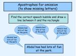 apostrophes for omission to show missing letters2