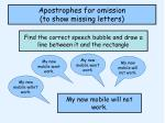 apostrophes for omission to show missing letters3