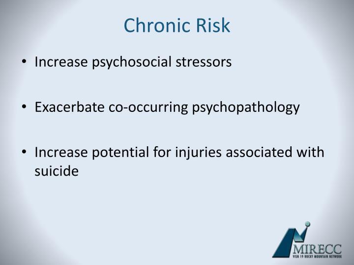 Chronic Risk