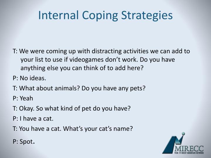 Internal Coping Strategies