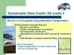sustainable sites credit ss credit 4