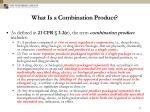 what is a combination product