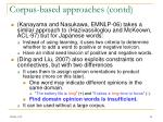 corpus based approaches contd1