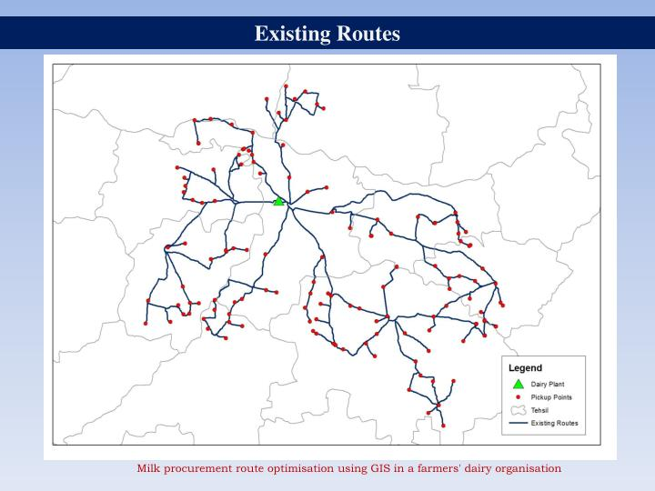 Existing Routes