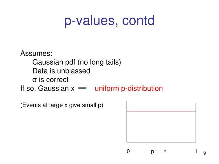 p-values, contd