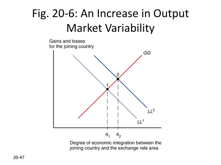 Fig. 20-6: An Increase in Output Market Variability