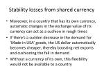 stability losses from shared currency1