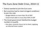 the euro zone debt crisis 2010 111