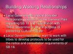 building working relationships1