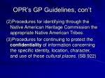 opr s gp guidelines con t