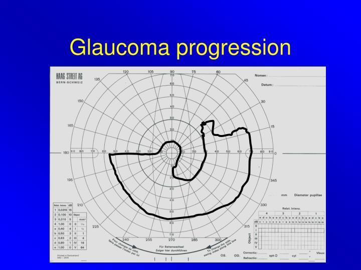 Glaucoma progression