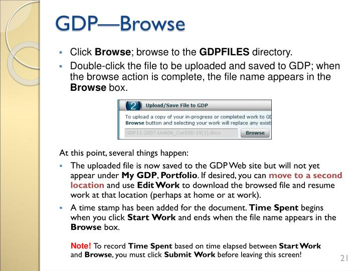 GDP—Browse