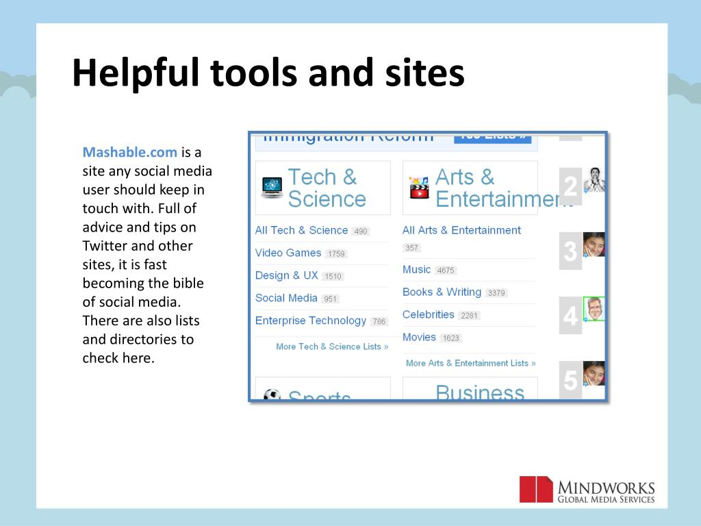 Helpful tools and sites