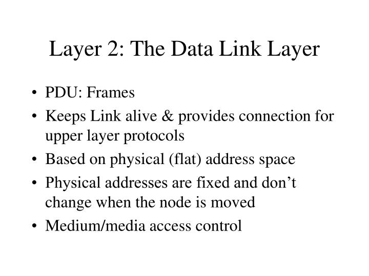 Layer 2: The Data Link Layer