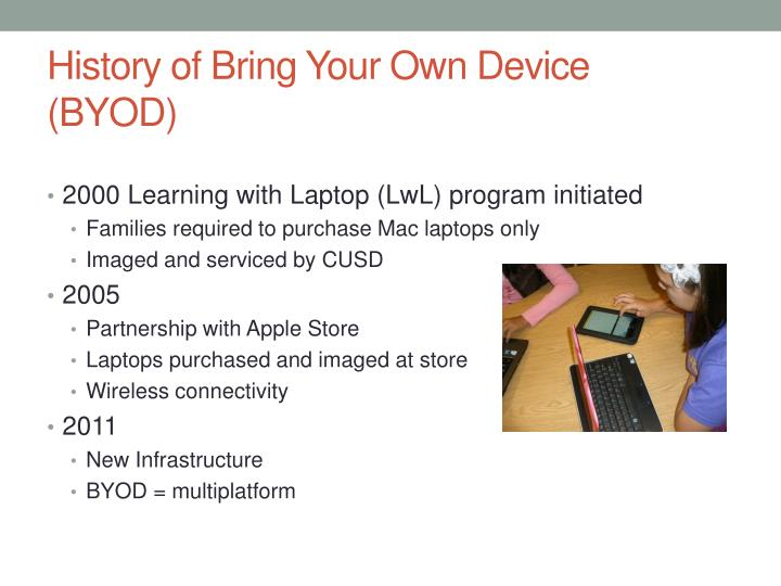 History of Bring Your Own Device