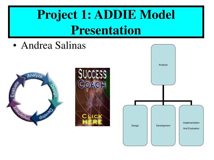 Project 1: ADDIE Model