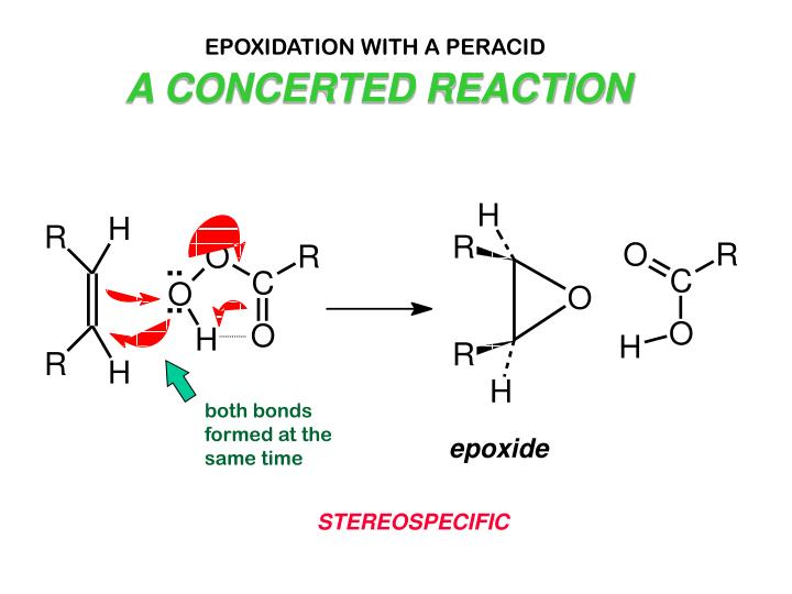EPOXIDATION WITH A PERACID