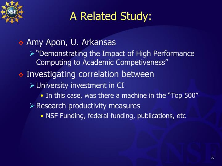 A Related Study: