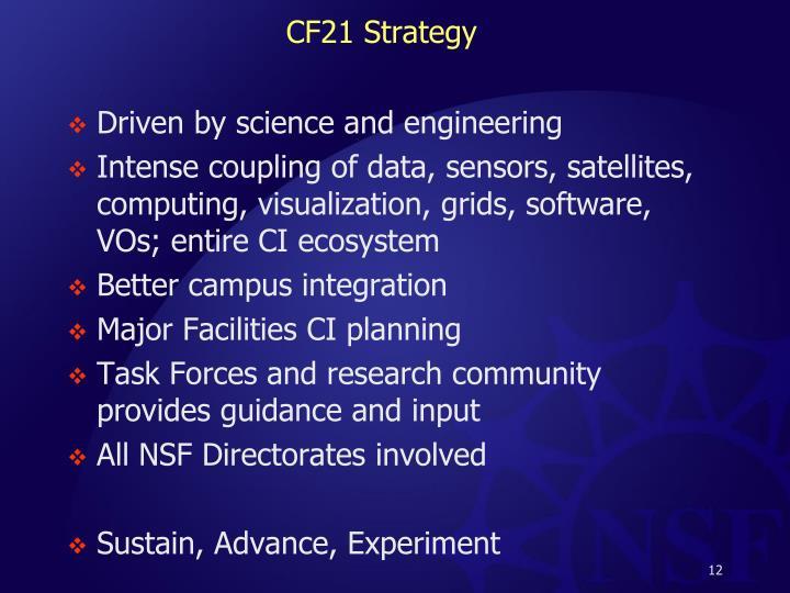 CF21 Strategy