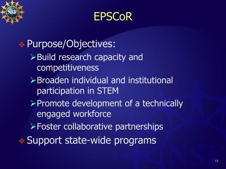 EPSCoR