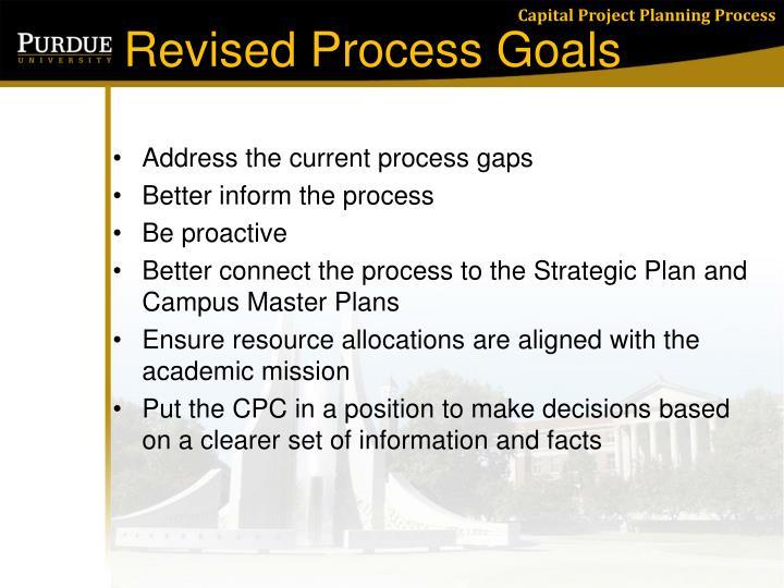 Revised Process Goals