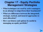 chapter 17 equity portfolio management strategies2