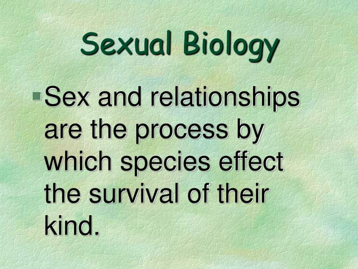 Sexual Biology