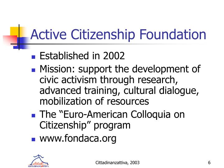 Active Citizenship Foundation