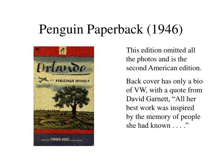 Penguin Paperback (1946)