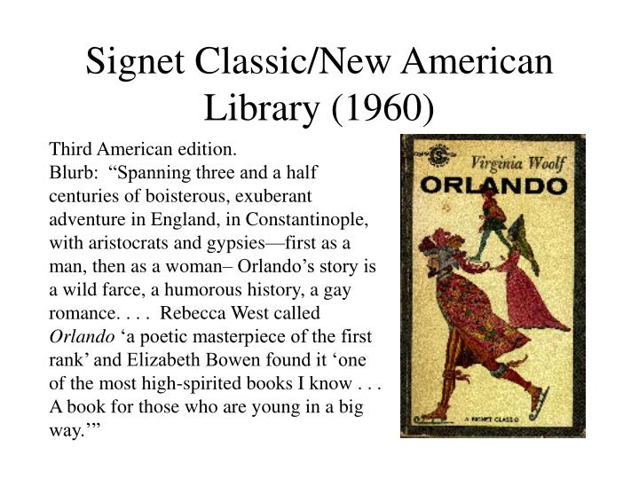 Signet Classic/New American Library (1960)