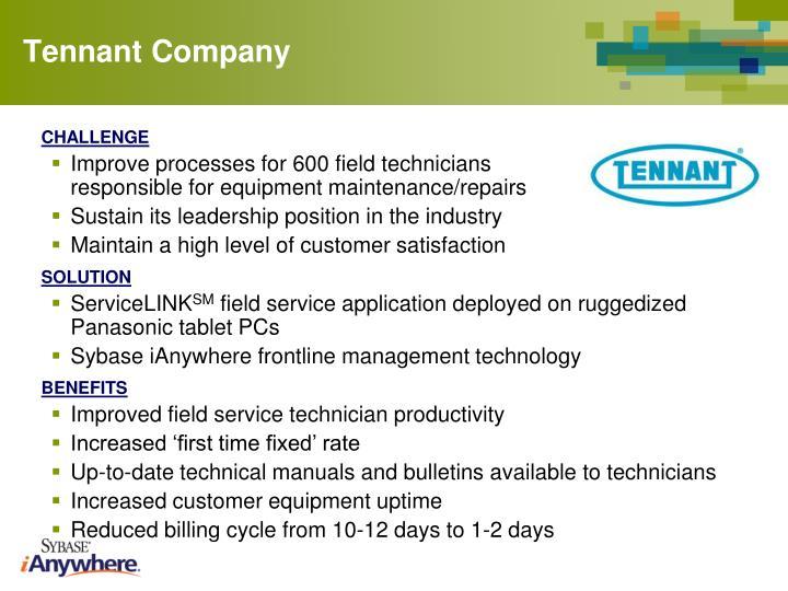 Tennant Company
