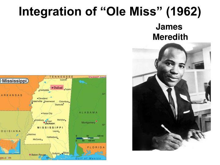 "Integration of ""Ole Miss"" (1962)"