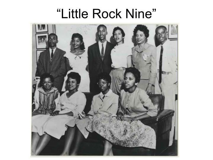 """""""Little Rock Nine"""""""