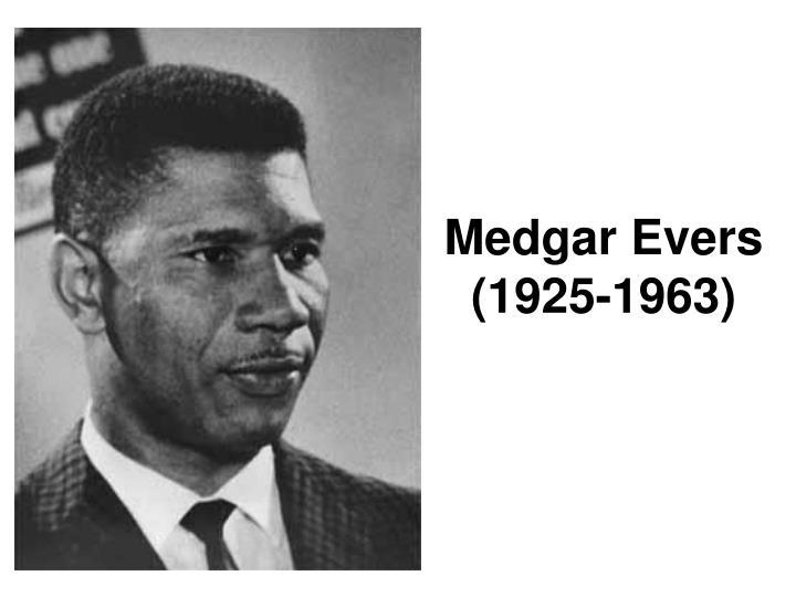 Medgar Evers (1925-1963)
