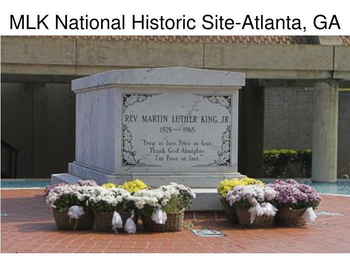 MLK National Historic Site-Atlanta, GA