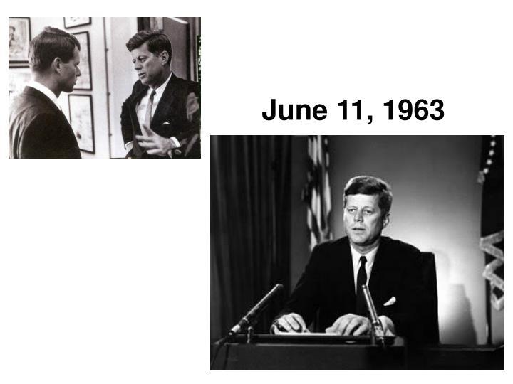 June 11, 1963
