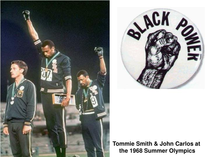 Tommie Smith & John Carlos at