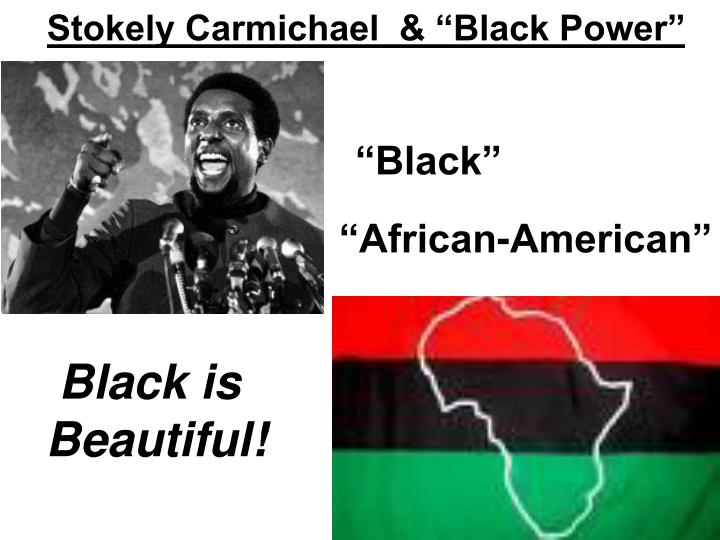 "Stokely Carmichael  & ""Black Power"""