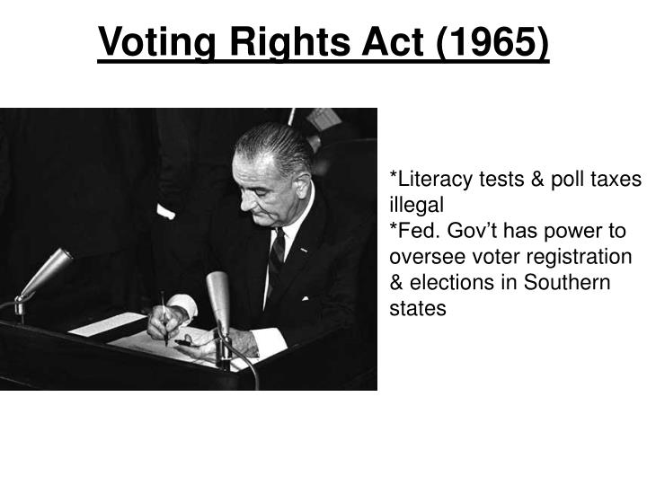 Voting Rights Act (1965)