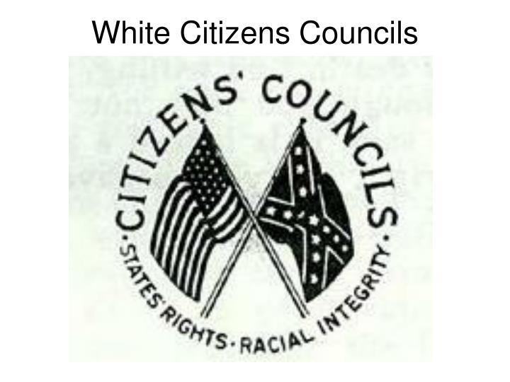 White Citizens Councils