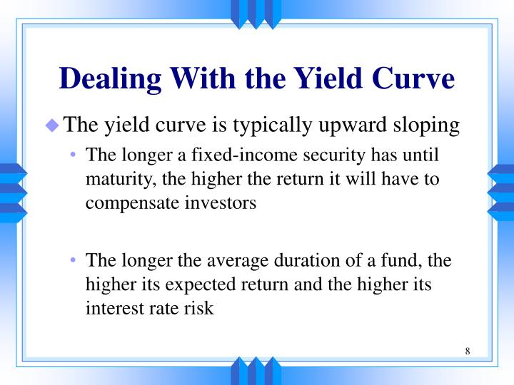 Dealing With the Yield Curve