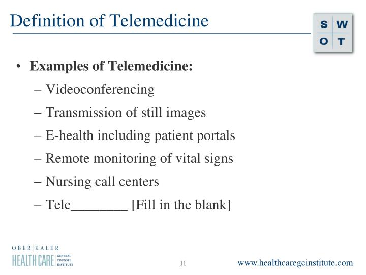 Definition of Telemedicine